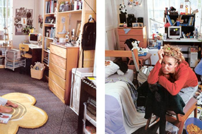 ruangan rapi vs ruangan berantakan