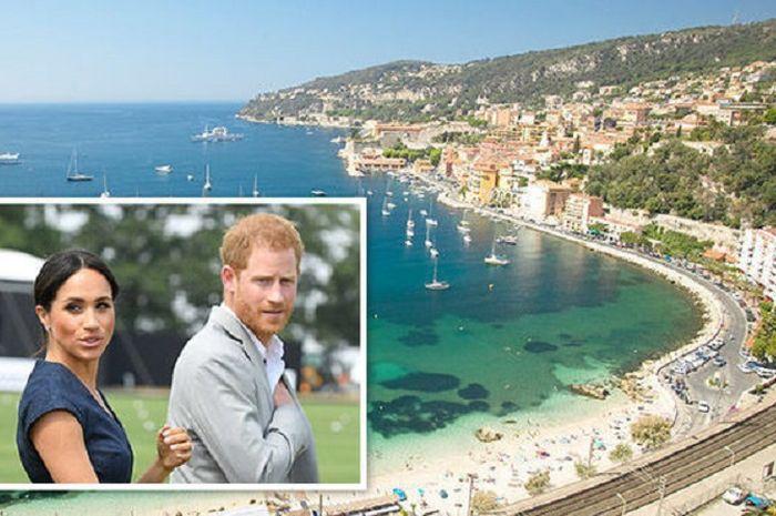 Pangeran Harry dan Meghan Markle berlibur di French Riviera