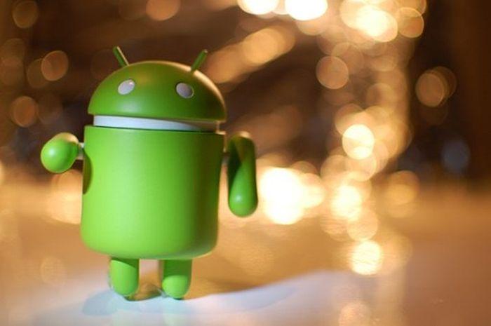 Robot hijau Android