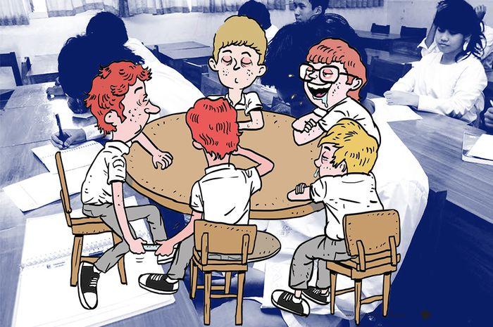 (Ilustrasi) masa orientasi di sekolah sekarang dianggap membosankan