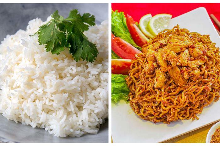 makan nasi atau mi, mana yang bikin cepat gemuk?