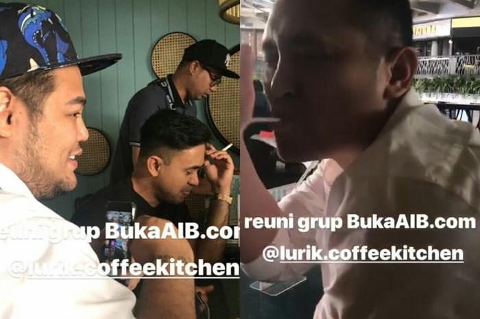 Ivan Gunawan dan artis lainnya berkumpul