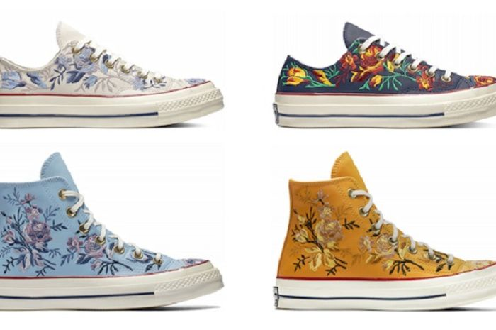 Chuck 70 Floral Leather