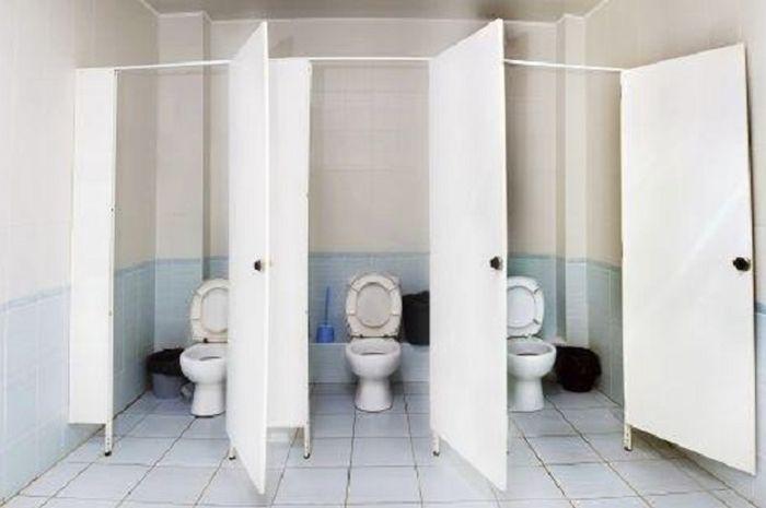 (Ilustrasi) Mark mendapatkan nomer Donna tertulis di dinding toilet.