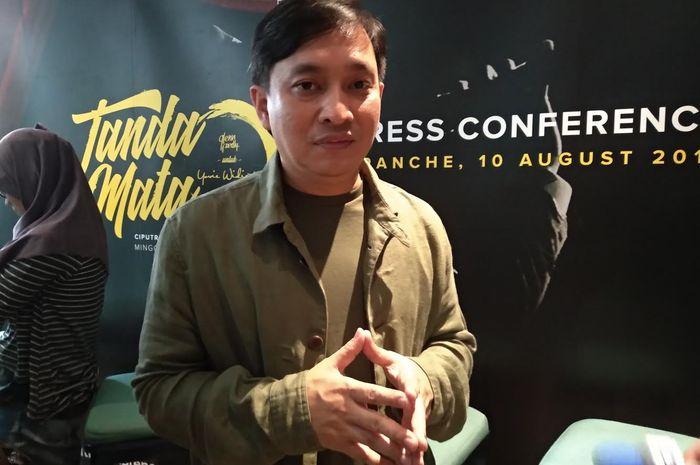 Yovie Widianto saat ditemui Grid.ID di kawasan Kebayoran, Jakarta Selatan, Jumat (10/2018).