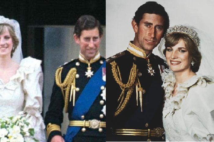 Foto Pangeran Charles dan Putri Diana