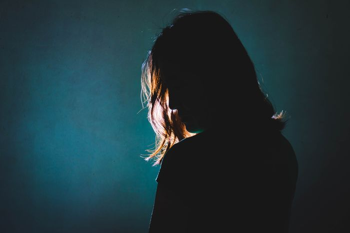 Beberapa gejala depresi dapat terlihat dengan mudah.