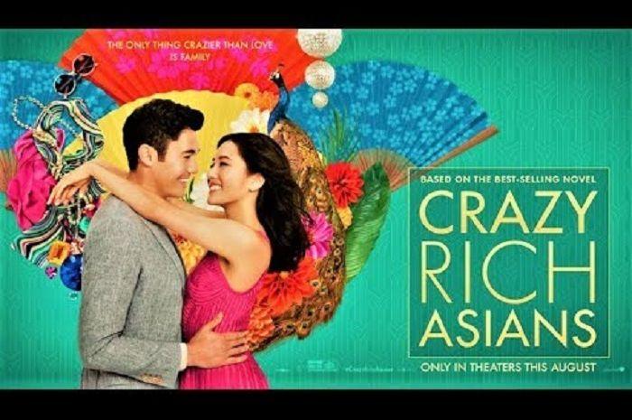 Poster film Crazy Rich Asians