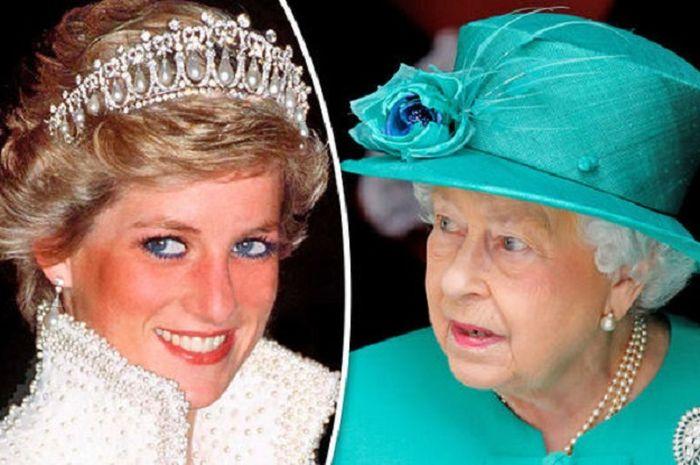 Ratu Elizabeth II dan Putri Diana