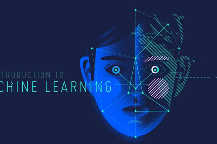 Ilustrasi machine learning