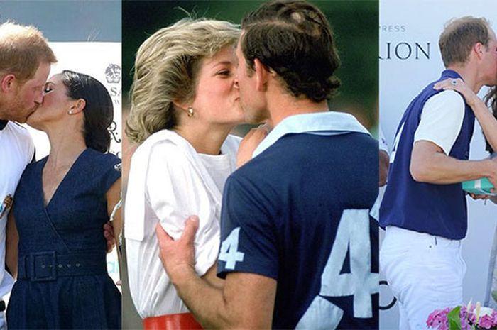 Tiru Ibunya, Setelah Pangeran Harry, Giliran Pangeran William Berani Cium Kate di Depan Publik