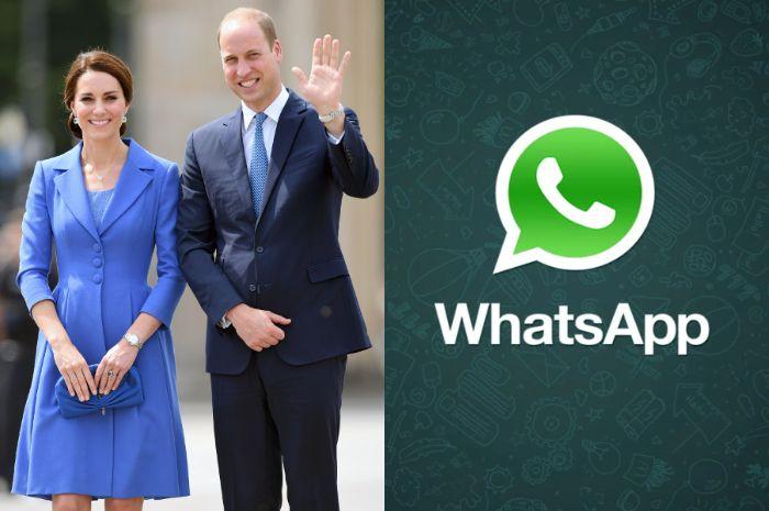 Ternyata, keluarga Kerajaan Inggris juga punya grup WhatsApp keluarga! Apa yang mereka bicarakan ya?