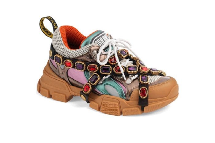 Journey Embelished Sneaker Gucci