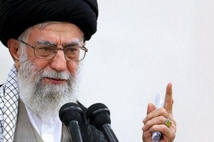 Pemimpin Tertinggi Iran Ayatollah Ali Khamenei.