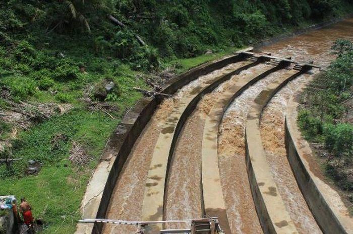 Selokan Mataram yang digunakan Raja Yogyakarta untuk mengelabui Romusha Jepang