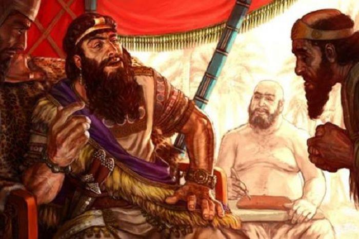 Ilustrasi Sargon yang Agung