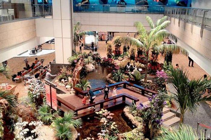 Bandara Changi, Singapura
