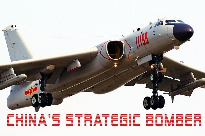 Pesawat pembom nuklir Xian H-6 China