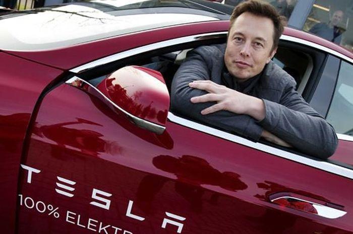 Chairman dan CEO Tesla Motors Elon Musk