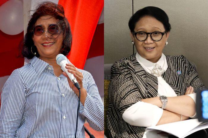 3 Penampilan Para Menteri Perempuan Saat Upacara Kemerdekaan di Istana Negara dengan Berbagai Model Pakaian Tradisional
