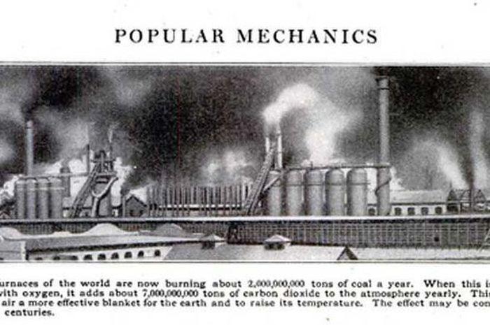 Isu tentang pengaruh batu bara terhadap perubahan iklim sedang hangat dibahas pada tahun 1912.