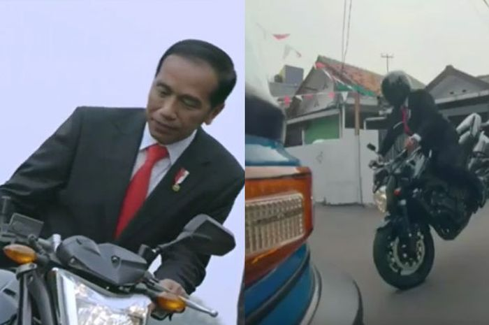 Presiden Jokowi dalam video teaser opening Asian Games 2018