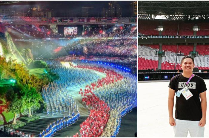 Cerita Pratdika, salah satu pembuat properti Asian Games 2018
