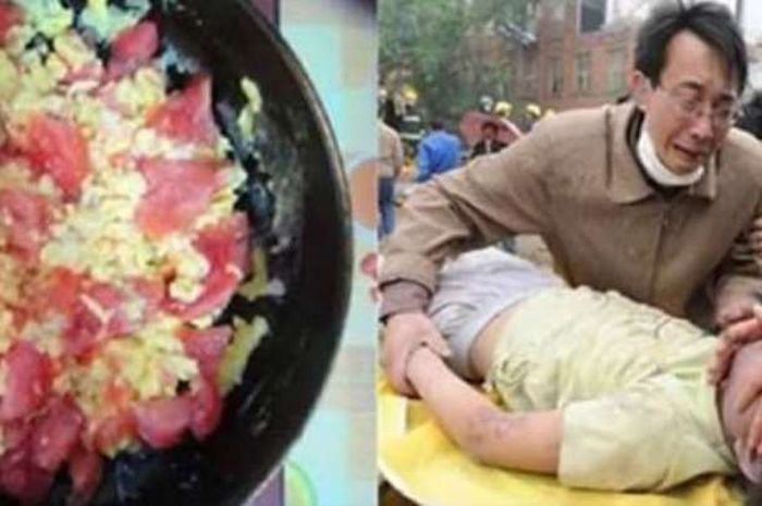 Seorang Anak Pucat dan Pingsan Usai Makan Tums Telur Dicampur Tomat