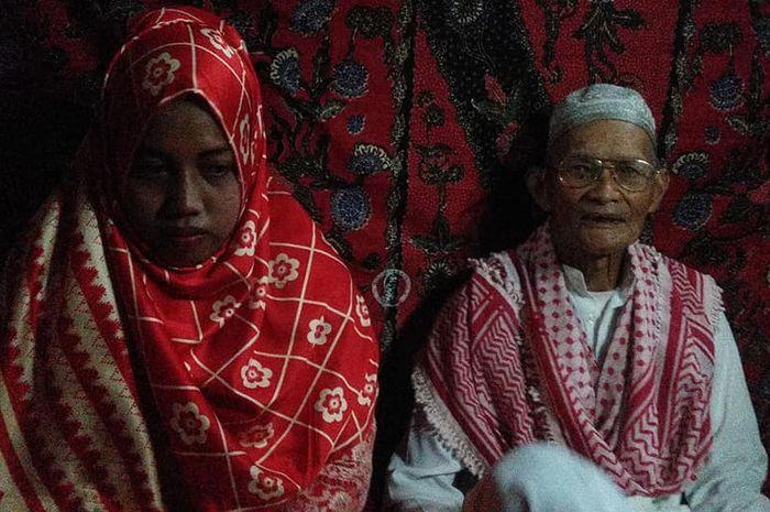 Kakek 80 tahun nikahi gadis 25 tahun