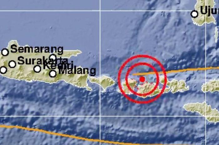 Sejumlah gempa bermagnitudo di atas 5 mengguncang Lombok, NTB, Minggu (19/8/2018).