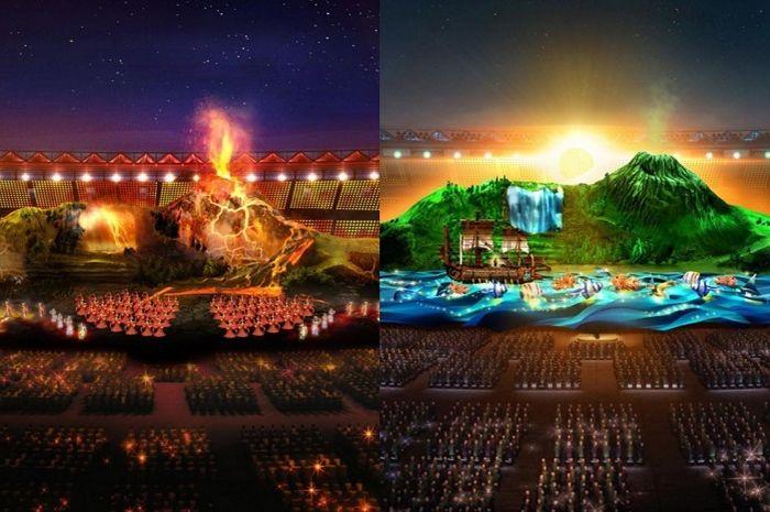 Elemen-elemen di acara Pembukaan Asian Games 2018