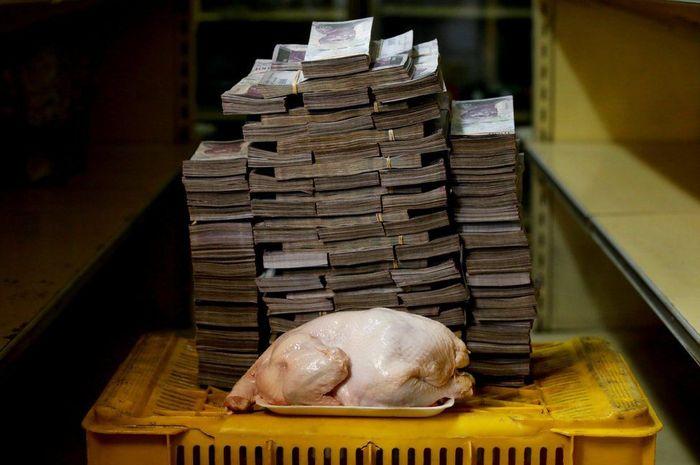 Daging ayam di Venezuela