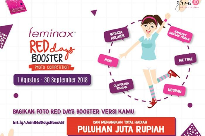 Feminax Red Days Booster Photo Competition
