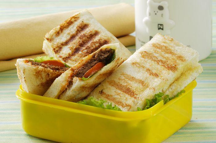 Sandwich Burger Goreng
