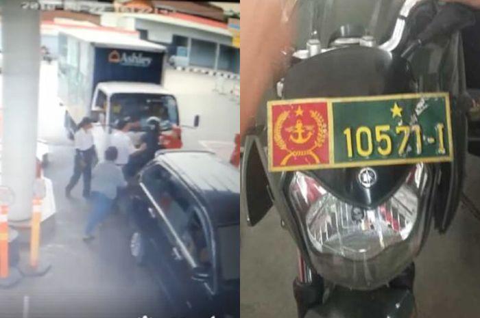 Oknum TNI pukul petugas SPBU di Medan