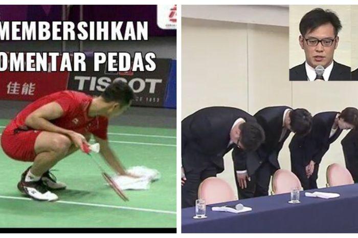 Deretan aksi konyol yang dilakukan para atlet di Asian Games 2018.