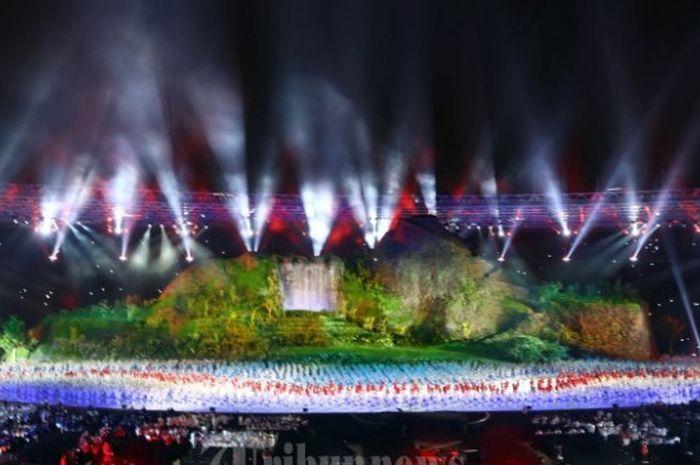 Suasana Pembukaan Asian Games 2018