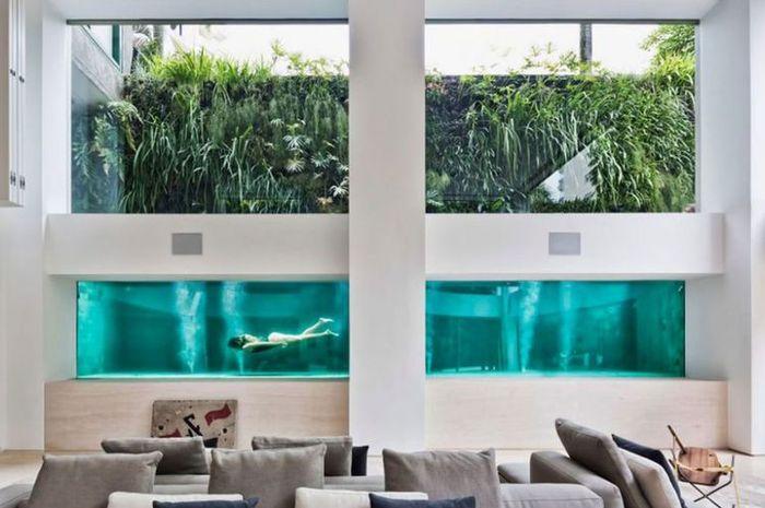 dinding kolam renang