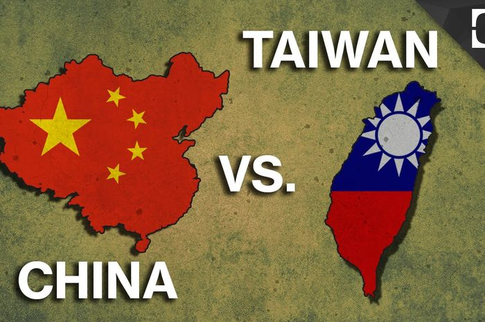 Ilustrasi perseteruan China vs Taiwan