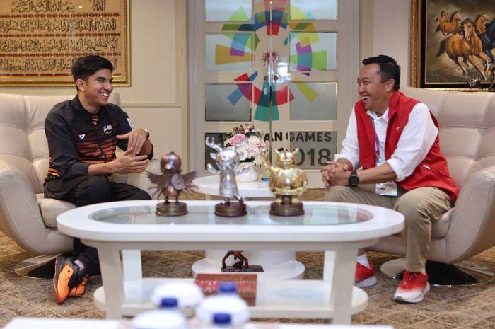 Kesepakatan Imam Nahrawi dengan Syed Saddiq, Menteri Termuda di Kabinet Perdana Menteri Malaysia Mah