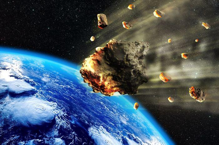 NASA ungkap tiga asteroid yang dekati Bumi.