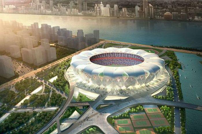 Hangzhou Olympic Sports Centre di China