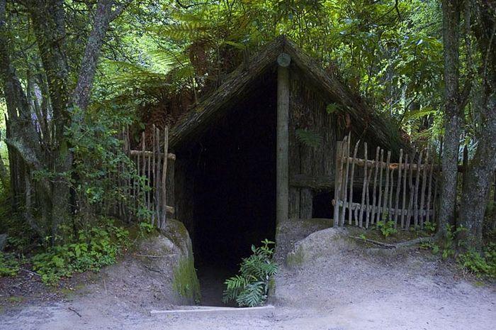 Tempat tinggal suku Maori, Selandia Baru