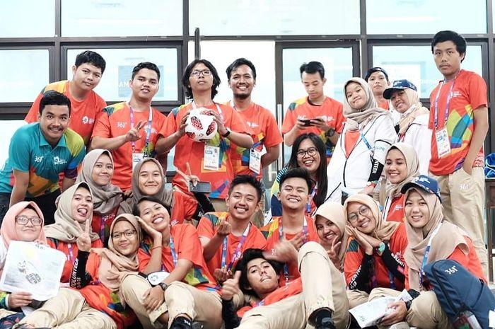 Serunya jadi volunteer Asian Games 2018