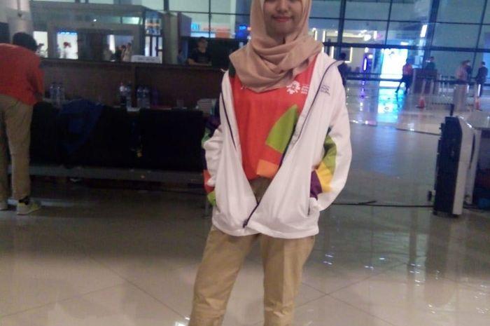 Rena, volunteer Asian Games 2018 dari Lombok yang punya cerita haru