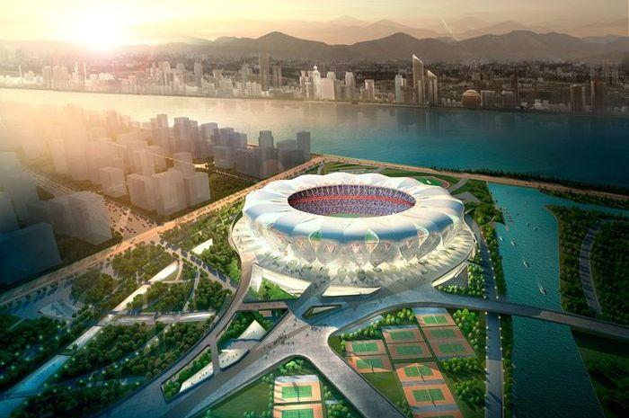 Mengintip Kemegahan Stadion Senilai Lebih dari Rp 5,5 Triliun, Tempat Perhelatan Asian Games 2022 Mendatang!
