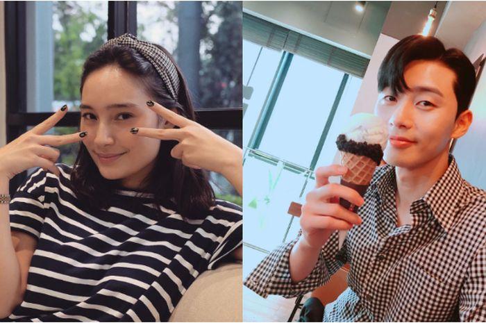 Tatjana Saphira foto bareng Park Seo Joon, ternyata begini sifat aslinya