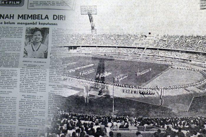 Ilustrasi Asian Games 1958