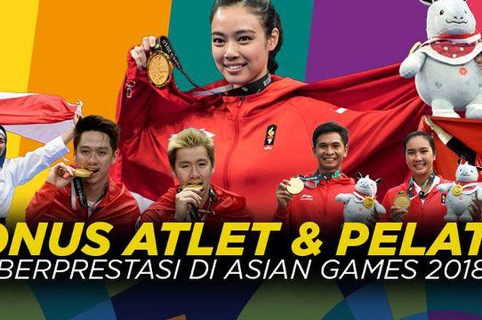 rahasia bonus atlet peraih medali asian games 2018 cepat cair