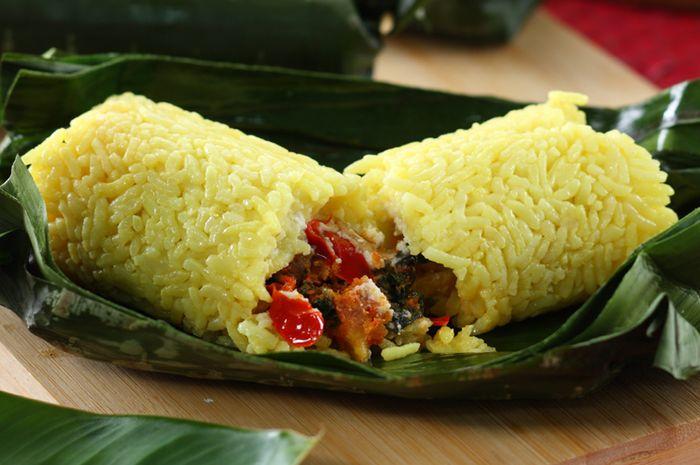Nasi Bakar Kuning